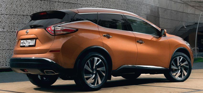 krossovery nissan  | nissan murano 3 | Nissan Murano (Ниссан Мурано) 2017 2018 | Тест драйв Nissan Nissan Murano