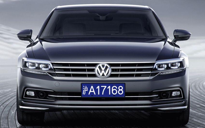 sedan volkswagen  | novaya model volkswagen phideon 1 | Volkswagen Phideon (Фольцваген Фидеон) | Volkswagen Phideon
