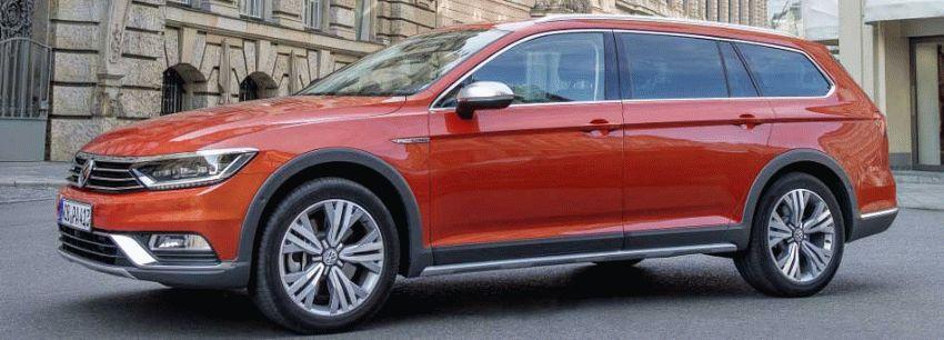 universaly volkswagen  | novoe pokolenie passat alltrack i variant 1 | Volkswagen Passat Alltrack и Passat Variant | Volkswagen Passat