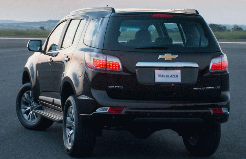 vnedorozhniki chevrolet  | obnovlennyy chevrolet trailblazer 4 | Chevrolet Trailblazer (Шевроле Трайлблейзер) | Chevrolet TrailBlazer