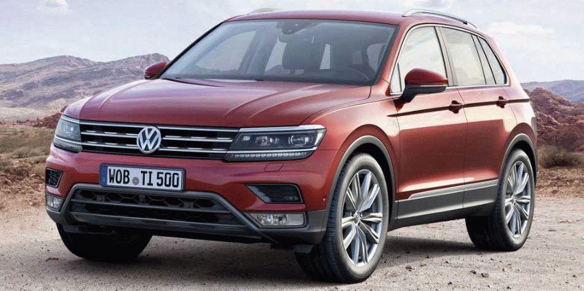 krossovery volkswagen  | volkswagen tiguan 1 | Volkswagen Tiguan (Фольксваген Тигуан) 2017 2018 | Volkswagen Tiguan