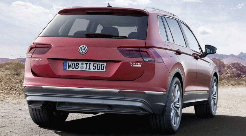 krossovery volkswagen  | volkswagen tiguan 2 | Volkswagen Tiguan (Фольксваген Тигуан) 2017 2018 | Volkswagen Tiguan