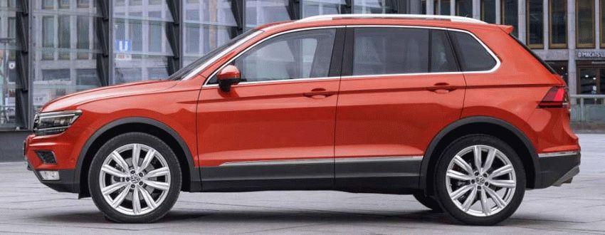 krossovery volkswagen  | volkswagen tiguan 3 | Volkswagen Tiguan (Фольксваген Тигуан) 2017 2018 | Volkswagen Tiguan