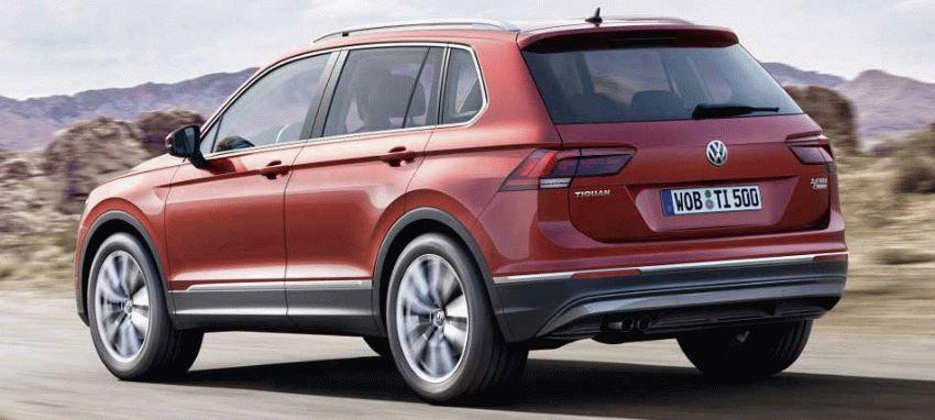 krossovery volkswagen  | volkswagen tiguan 6 | Volkswagen Tiguan (Фольксваген Тигуан) 2017 2018 | Volkswagen Tiguan