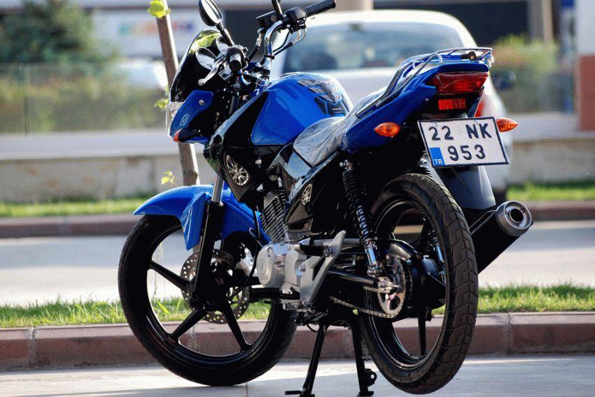 moto  | yamaha ybr 125 4 | Yamaha YBR 125 (Ямаха ЮБР 125) мотоцикл | Yamaha YBR 125