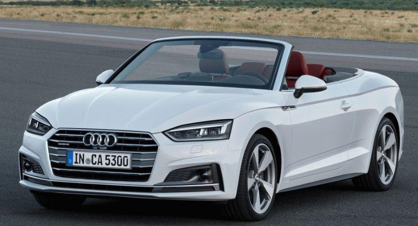 kabriolety audi  | audi a5 1 | Audi A5 (Ауди А5) кабриолет 2017 2018 | Audi A5