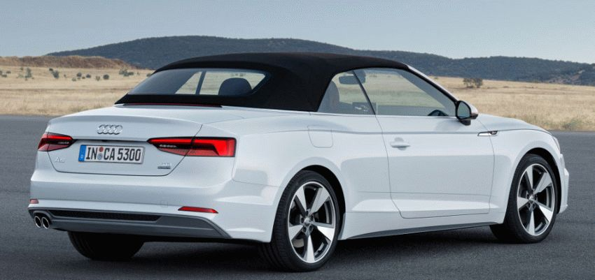 kabriolety audi  | audi a5 3 | Audi A5 (Ауди А5) кабриолет 2017 2018 | Audi A5