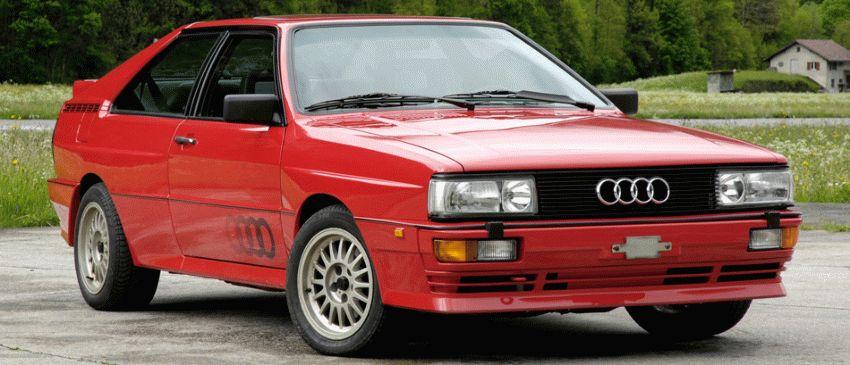 istoriya zarubezhnogo avtoproma  | audi quattro 1 | Audi Quattro (Ауди Кватро) | Audi Quattro