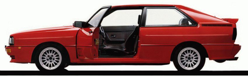 istoriya zarubezhnogo avtoproma  | audi quattro 2 | Audi Quattro (Ауди Кватро) | Audi Quattro