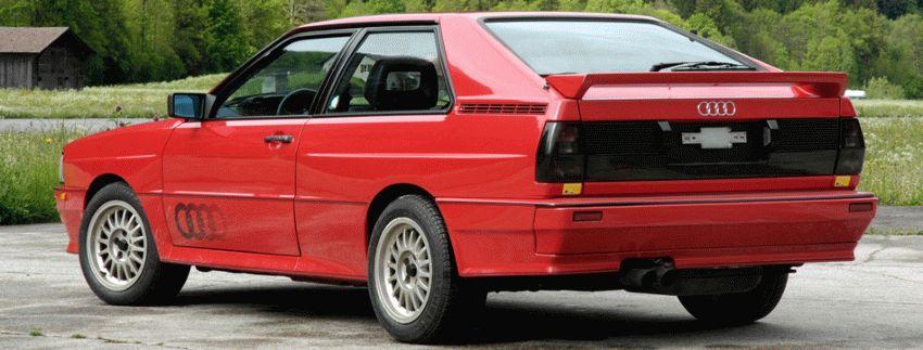 istoriya zarubezhnogo avtoproma  | audi quattro 3 | Audi Quattro (Ауди Кватро) | Audi Quattro