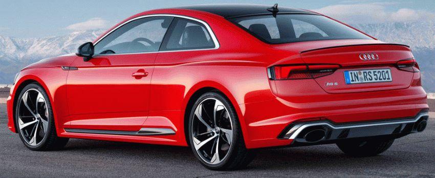 kupe audi  | audi rs5 3 | Audi RS5 (Ауди РС5) 2017 2018 | Audi RS5