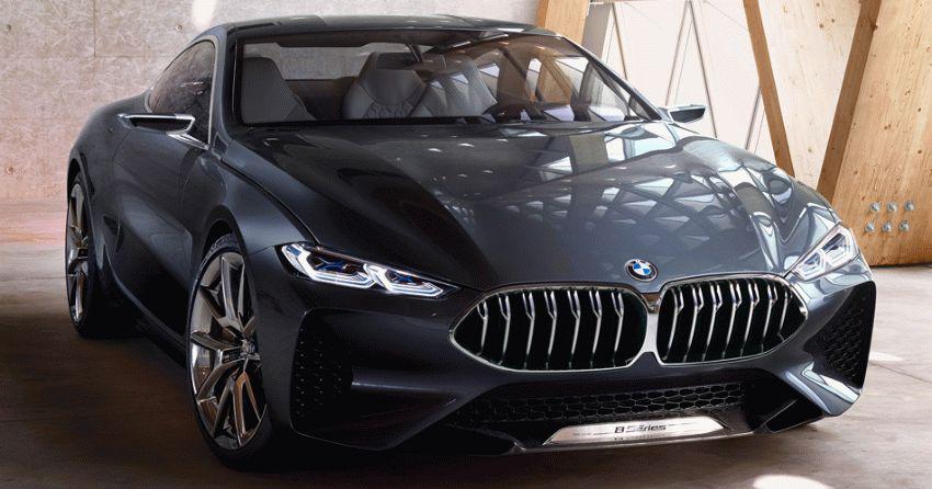 koncept avto  | bmw 8 series concept 1 | BMW 8 Series Concept (БМВ 8 серии) | BMW 8