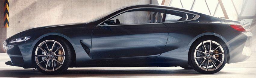 koncept avto  | bmw 8 series concept 2 | BMW 8 Series Concept (БМВ 8 серии) | BMW 8