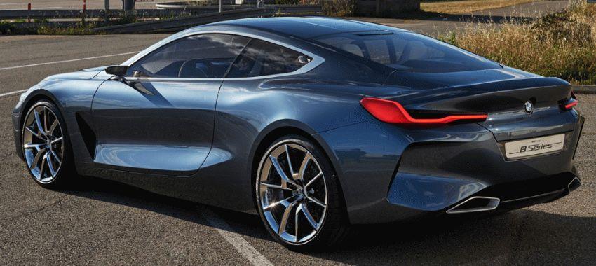 koncept avto  | bmw 8 series concept 5 | BMW 8 Series Concept (БМВ 8 серии) | BMW 8
