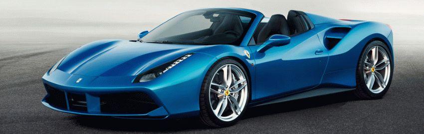 kabriolet katalog  | ferrari 488 spider rodster 1 | Ferrari 488 Spider Родстер | Ferrari 488