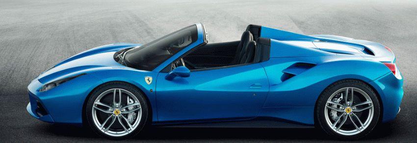 kabriolet katalog  | ferrari 488 spider rodster 2 | Ferrari 488 Spider Родстер | Ferrari 488