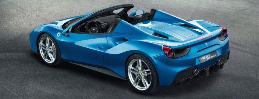 kabriolet katalog  | ferrari 488 spider rodster 3 | Ferrari 488 Spider Родстер | Ferrari 488