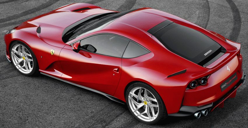 sport kary kupe ferrari  | ferrari 812 superfast 3 | Ferrari 812 Superfast (Ферарри 812 СуперФаст) 2017 2018 | Ferrari 812