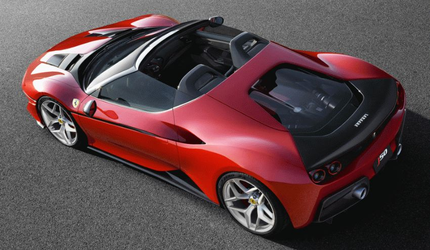 sport kary kabriolety ferrari  | ferrari j50 2 | Ferrari J50 (Феррари Джи50) | Ferrari J50