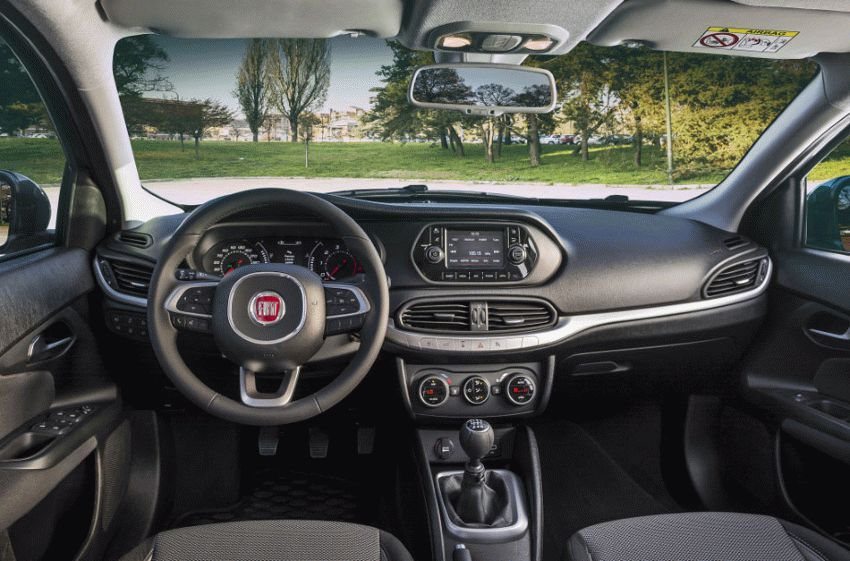 sedan fiat  | fiat tipo test drayv 3 | Fiat Tipo (Фиат Типо) 2017 | Тест драйв Fiat Fiat Tipo