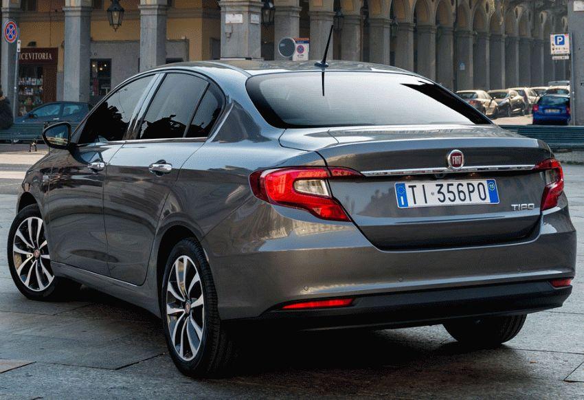 sedan fiat  | fiat tipo test drayv 6 | Fiat Tipo (Фиат Типо) 2017 | Тест драйв Fiat Fiat Tipo