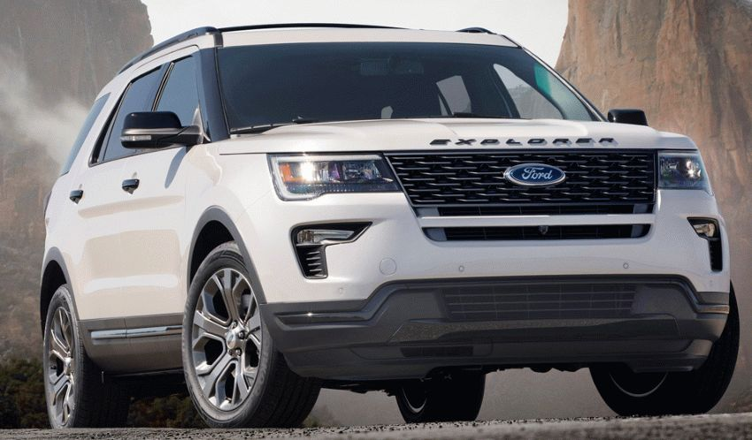 krossovery ford  | ford explorer 1 | Ford Explorer (Форд Эксплорер) 2018 2019 | Ford Explorer