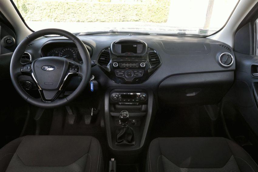 khyechbek ford  | ford ka plus 2016 4 | Ford Ka plus (Форд Ка плюс) 2016 2017 | Тест драйв Ford Ford Ka plus