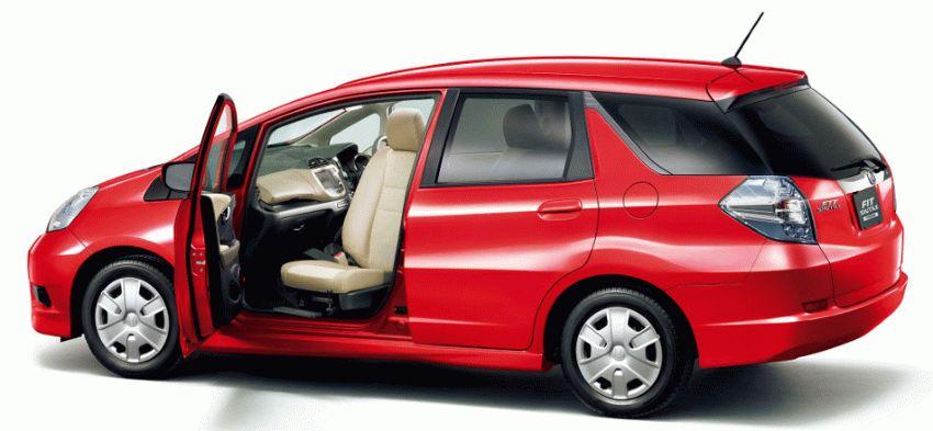universal katalog  | honda fit shuttle universal 1 | Honda Fit Shuttle Универсал | Honda Fit