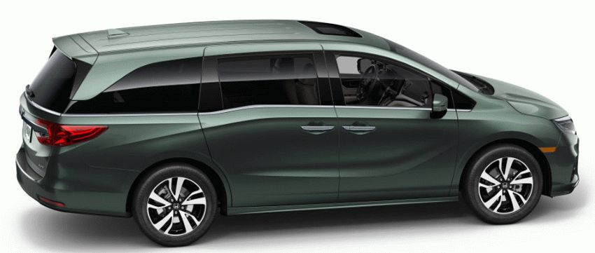 miniveny honda  | honda odyssey 2017 1 | Honda Odyssey (Хонда Одиссей) 2017 2018 | Honda Odyssey
