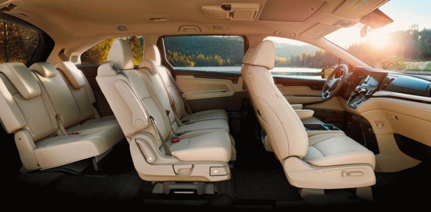 miniveny honda  | honda odyssey 2017 3 | Honda Odyssey (Хонда Одиссей) 2017 2018 | Honda Odyssey