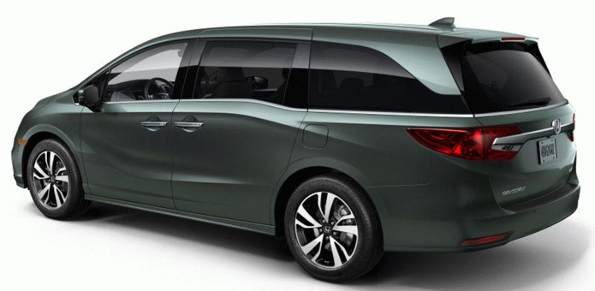 miniveny honda  | honda odyssey 2017 4 | Honda Odyssey (Хонда Одиссей) 2017 2018 | Honda Odyssey