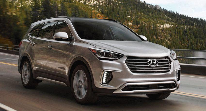 vnedorozhniki hyundai  | hyundai santa fe 1 | Hyundai Santa Fe (Хендай Санта Фе) 2017 2018 | Hyundai Santa Fe