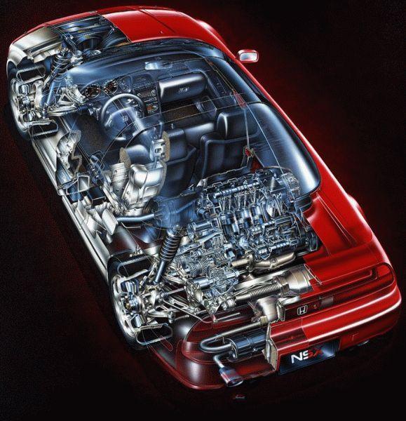 istoriya zarubezhnogo avtoproma    istoriya sozdaniya honda nsx 4   История создания Honda NSX (Хонда НС ИКс)   История Honda NSX