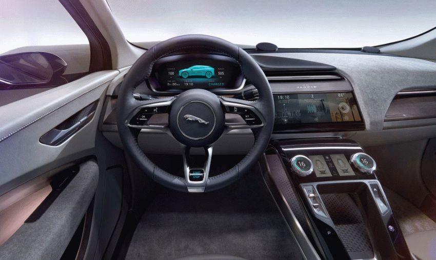 koncept avto  | jaguar i pace concept 5 | Jaguar I Pace Concept (Ягуар Ай Пейс) | Jaguar I Pace