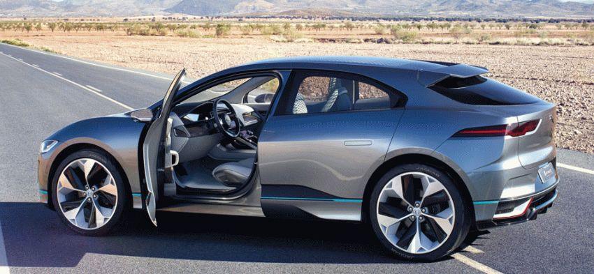 koncept avto  | jaguar i pace concept 8 | Jaguar I Pace Concept (Ягуар Ай Пейс) | Jaguar I Pace