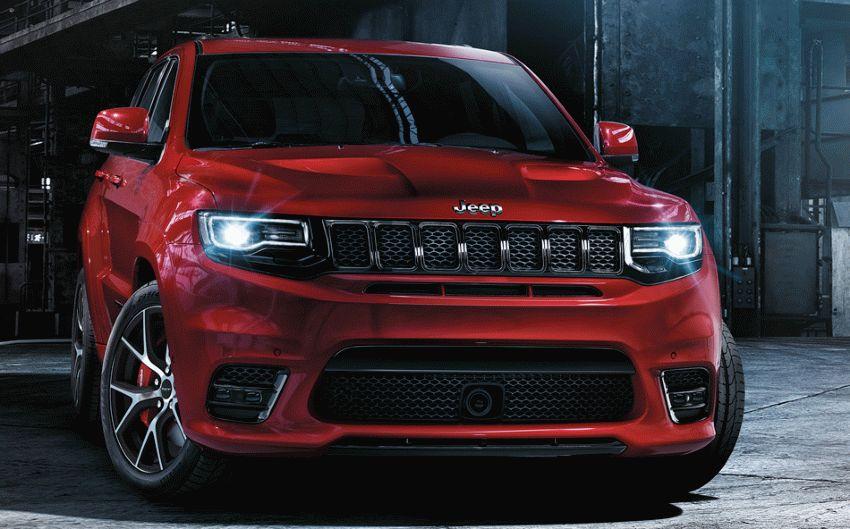vnedorozhniki jeep  | jeep grand cherokee srt 1 | Jeep Grand Cherokee SRT (Джип Гранд Чероки СРТ) | Jeep Cherokee
