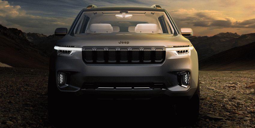 koncept avto  | jeep yuntu koncept budushhego 1 | Jeep Yuntu (Джип Юнту ) концепт будущего | Jeep Yuntu