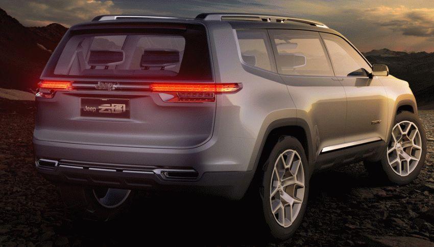 koncept avto  | jeep yuntu koncept budushhego 4 | Jeep Yuntu (Джип Юнту ) концепт будущего | Jeep Yuntu