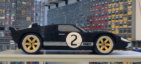 novosti  | legenda le mana v ispolnenii lego 4 | Легенда Ле Мана в исполнении LEGO | Легенда Ле Мана