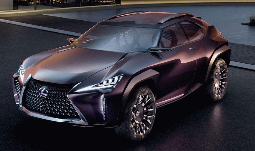koncept avto  | lexus ux 1 | Lexus UX (Лексус Ю Икс) концепт | Lexus UX