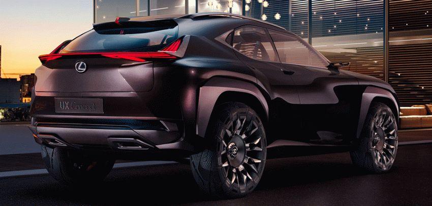 koncept avto  | lexus ux 3 | Lexus UX (Лексус Ю Икс) концепт | Lexus UX