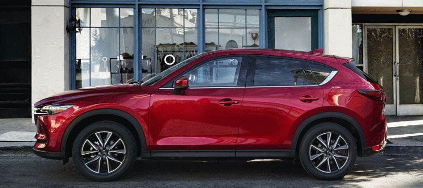 krossovery mazda    mazda cx 5 2   Mazda CX 5 (Мазда СХ 5) 2017 2018   Mazda CX 5