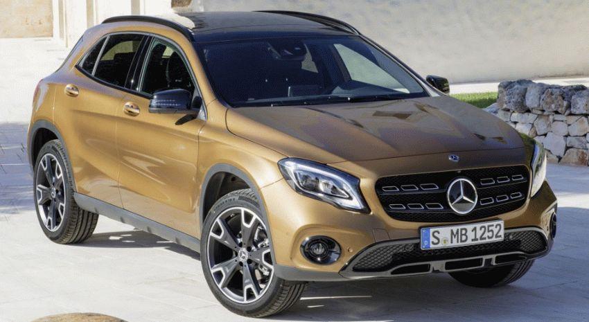 krossovery mercedes benz  | mercedes benz gla 1 | Mercedes Benz GLA (Мерседес ГЛА) 2017 2018 | Mercedes Benz GLA
