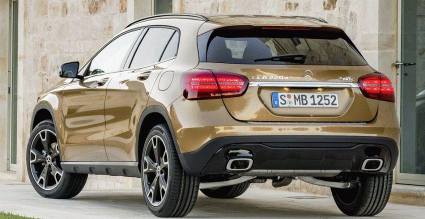 krossovery mercedes benz  | mercedes benz gla 4 | Mercedes Benz GLA (Мерседес ГЛА) 2017 2018 | Mercedes Benz GLA