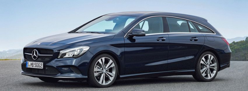 universaly mercedes benz  | mercedes cla shooting brake 1 | Mercedes CLA Shooting Brake (Мерседес ЦЛА) 2017 2018 | Mercedes Benz CLA