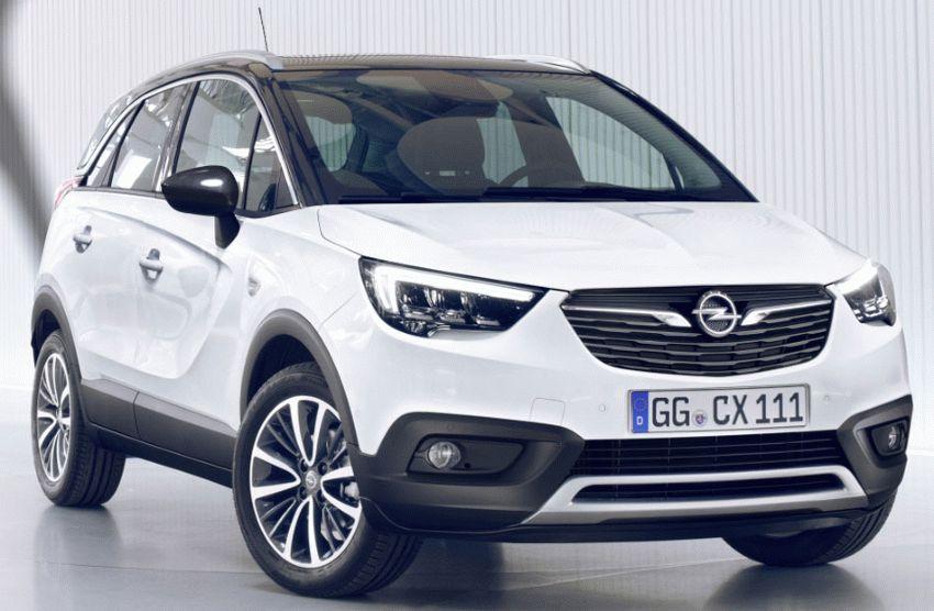 krossovery opel  | opel crossland x 1 | Opel Crossland X (Опель Кроссланд Х) 2017 2018 | Opel Crossland X