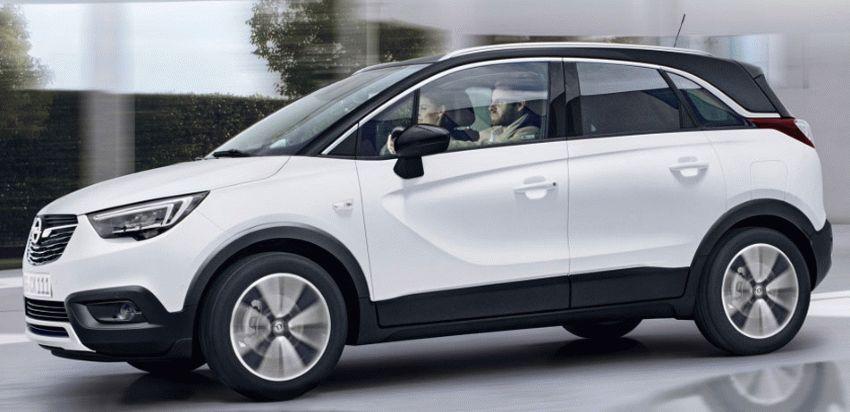 krossovery opel  | opel crossland x 4 | Opel Crossland X (Опель Кроссланд Х) 2017 2018 | Opel Crossland X