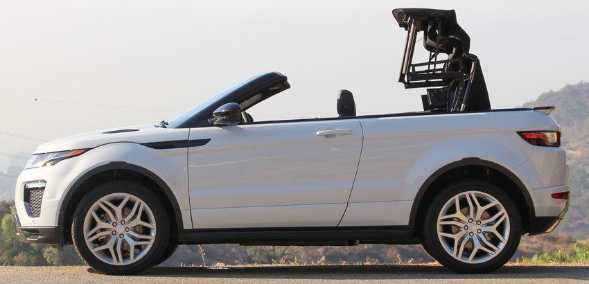 krossovery kabriolety land rover  | range rover evoque convertible 2 | Range Rover Evoque Convertible (Рендж Ровер Эвок Конвертибиле) | Тест драйв Range Rover Range Rover Evoque