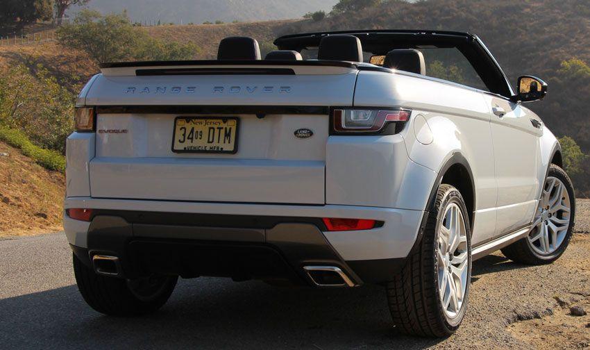 krossovery kabriolety land rover  | range rover evoque convertible 6 | Range Rover Evoque Convertible (Рендж Ровер Эвок Конвертибиле) | Тест драйв Range Rover Range Rover Evoque
