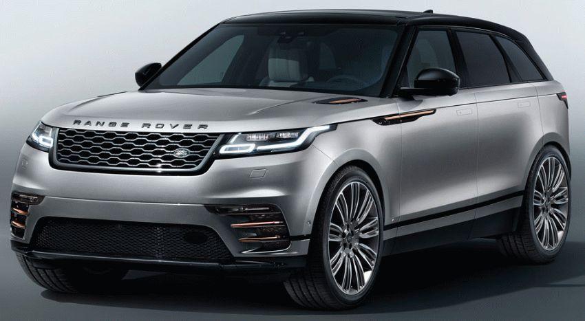 krossovery land rover  | range rover velar 1 | Range Rover Velar (Рендж Ровер Велар) 2017 2018 | Range Rover Velar
